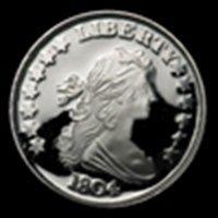 1 oz 1804 Silver Dollar Design Silver Round .999 Fine