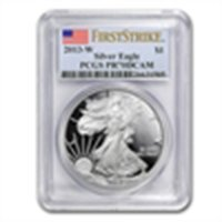 (Proof) Silver American Eagle PR-70 DCAM PCGS First Str
