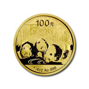 Chinese Gold Panda Quarter Ounce (Date of our choice)