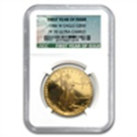 1 oz Proof Gold American Eagle PF-70 NGC (Green Label)(