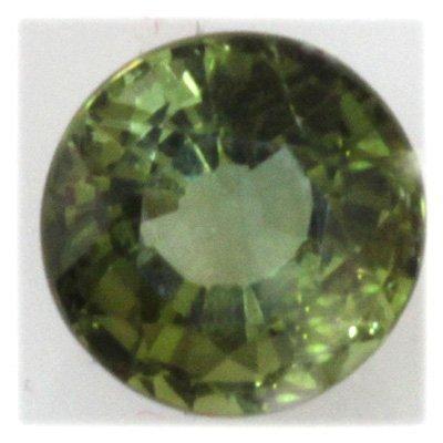Natural 2.3ctw Green Tourmaline 8mm Round Stone