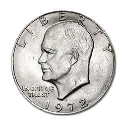 Eisenhower Dollar BU