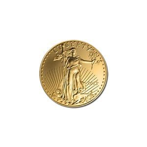 US American Gold Eagle Uncirculated Tenth Ounce (date o