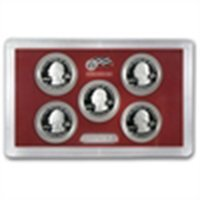 2010-2013 America The Beautiful Silver Quarter Proof Se