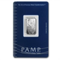 2.5 gram Pamp Suisse Silver Bar - Fortuna (In Assay)