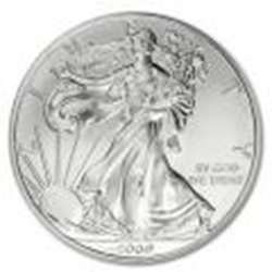 Uncirculated Silver Eagle 2009