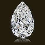 GIA CERT 0.91 CTW PEAR DIAMOND H/VVS2