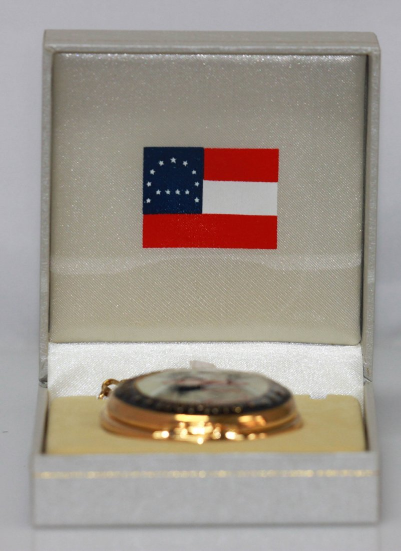 CONFEDERATE STYLE ROBERT E. LEE POCKET WATCH