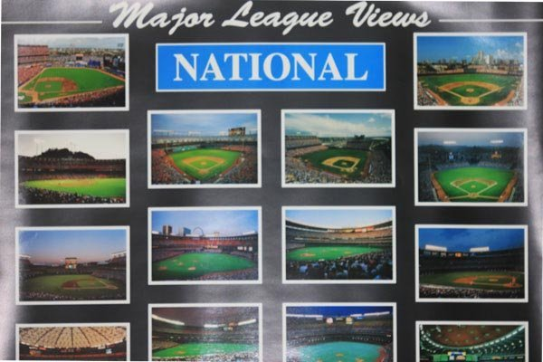 MAJOR LEAGUES BALLPARKS