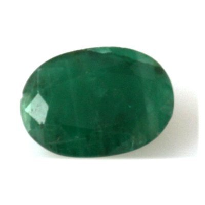 Natural 3.23ctw Emerald Oval Cut Stone