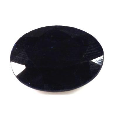 16.87 ctw Dark Blue Sappire Loose Oval