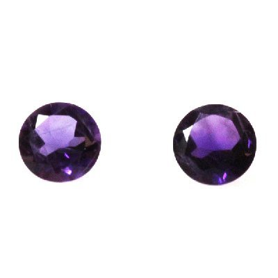 Natural 3.09ctw Amethyst Round Stone 8x8 (2)