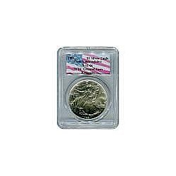 Certified Silver Eagle WTC Ground Zero Recovery 1991 Ge