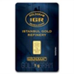 1 gram Istanbul Gold Refinery Bar (In Assay) .9999 Fine
