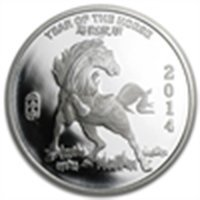 1/2 oz Year of the Horse Silver Round .999 Fine
