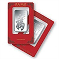 1 oz Pamp Suisse Silver Bar - True Happiness (ONE BAR)