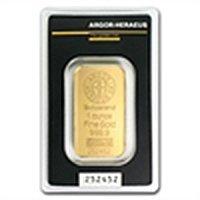 1 oz Argor-Heraeus Gold Bar .9999 Fine