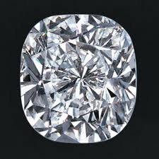 EGL CERT. 1.0 CTW CUSHION DIAMOND H/SI2