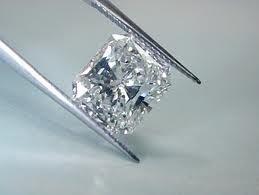 GIA CERT 0.55 CTW PRINCESS DIAMOND E/VS1