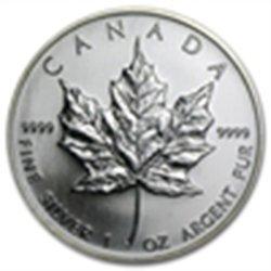 2006 1 oz Silver Canadian Maple Leaf (Brilliant Uncircu