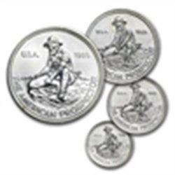 1985 (Eagle) - 1.85 oz Engelhard Prospector 4-Silver Ro