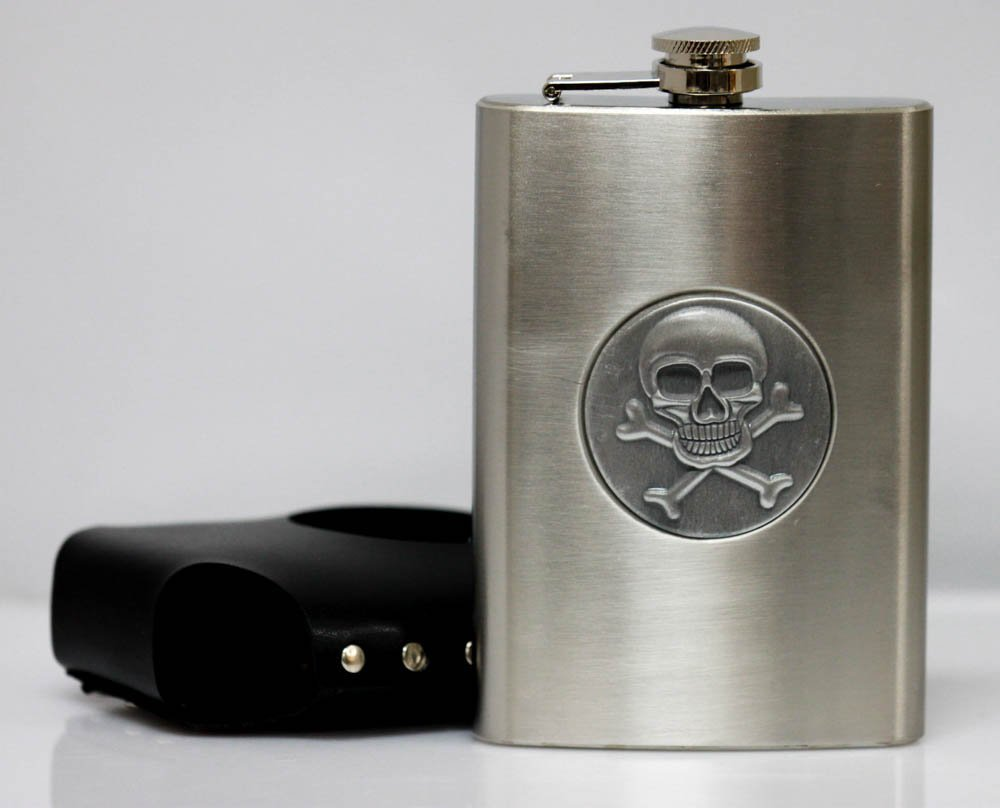 Collecible Stainless Steel With Skull & Genuine Lather