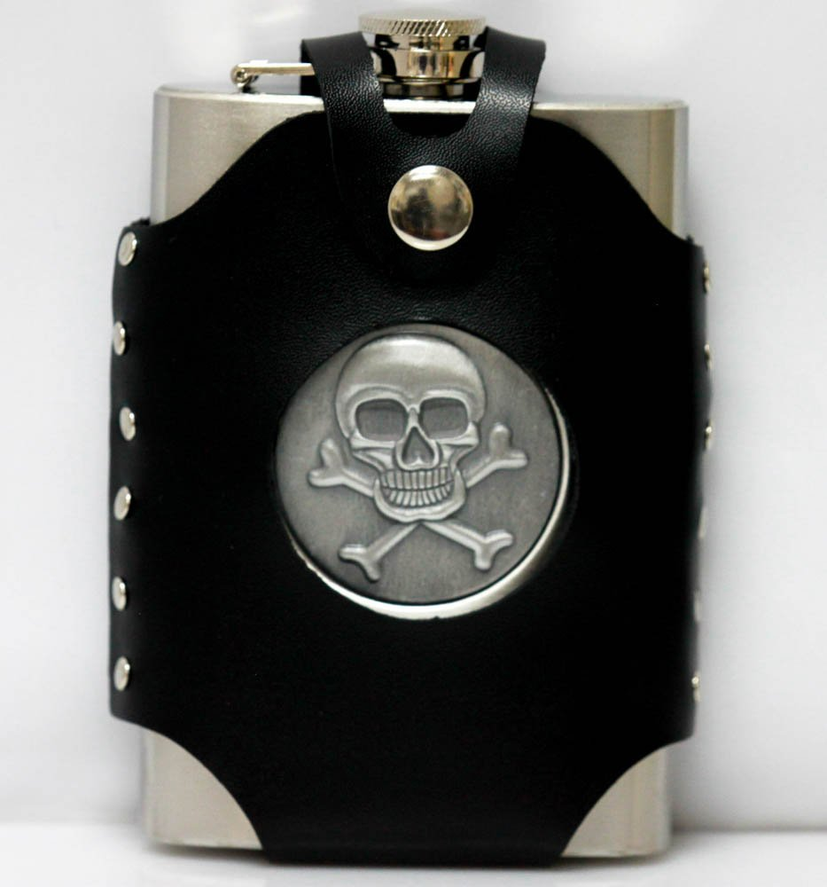 Collecible Stainless Steel With Skull & Genuine Lather - 2