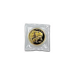 (1/10 oz) Gold Chinese Pandas - (Sealed) (date of our c