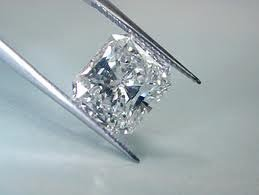 GIA CERT 0.7 CTW PRINCESS DIAMOND G/VVS1