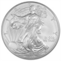 2008 1 oz Silver American Eagle (Brilliant Uncirculated