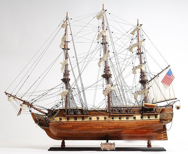 HAND MADE WOODEN USS Constitution Exclusive Edition