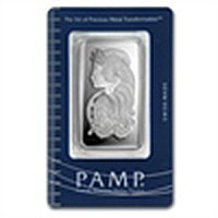 50 gram Pamp Suisse Silver Bar - Fortuna (In Assay)