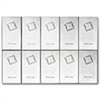 10x 10 gram Valcambi Silver CombiBar