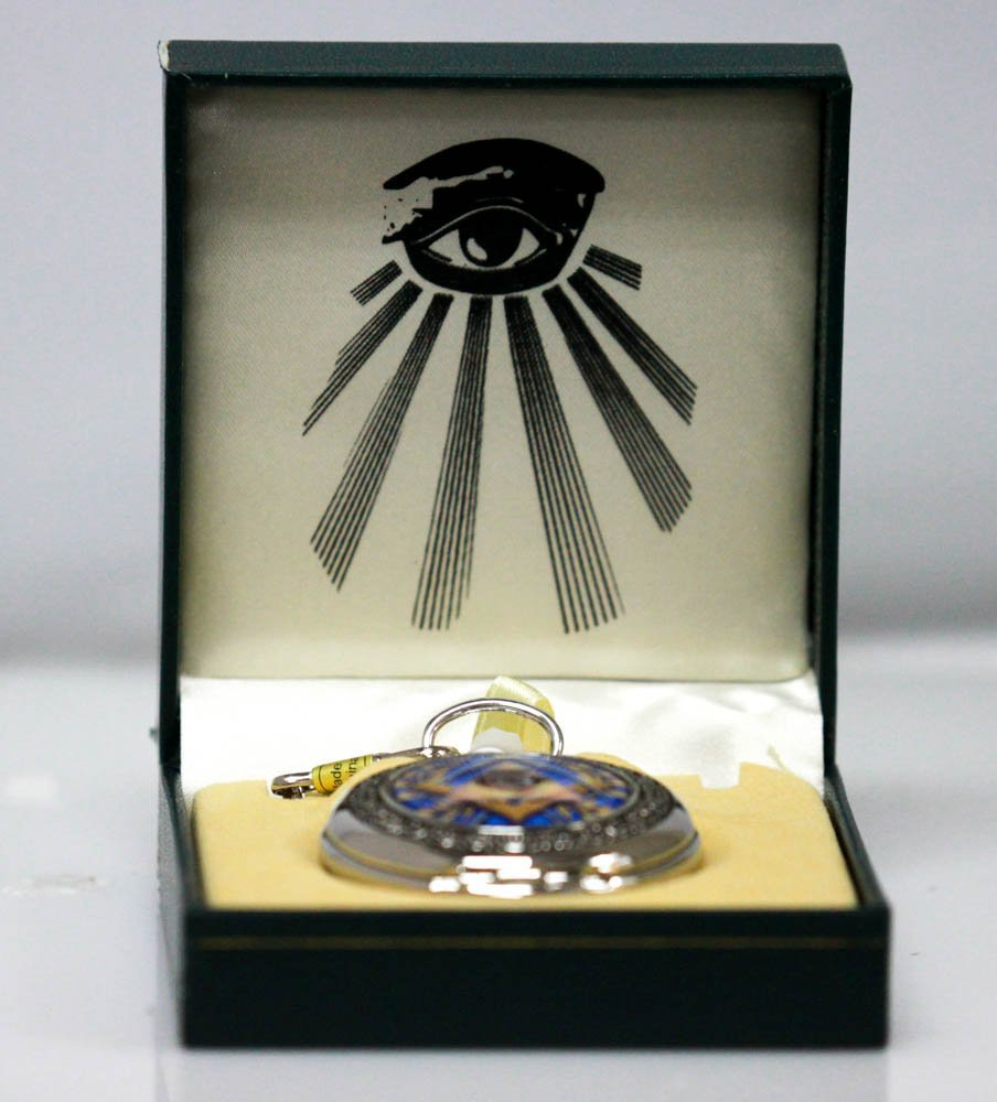 "Collectors Edition Masonic Style ""All Seeing Eye: Quart"