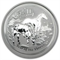 2014 1/2 oz Silver Australian Year of the Horse (SII)