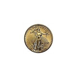 1/10 oz Gold American Eagle - Brilliant Uncirculated (d