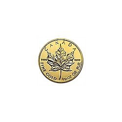 1/10 oz Gold Canadian Maple Leaf (date of our choice)