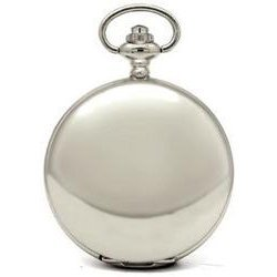 Collectors Edition High Polished Silver Pocket Watch
