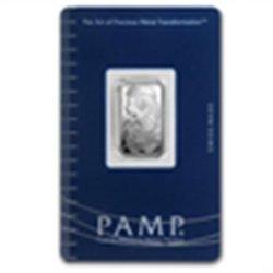 2.5 gram Pamp Suisse Silver Bar - Fortuna (In Assay)