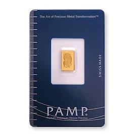 Gold Bars: Pamp Suisse One Gram Gold Bar