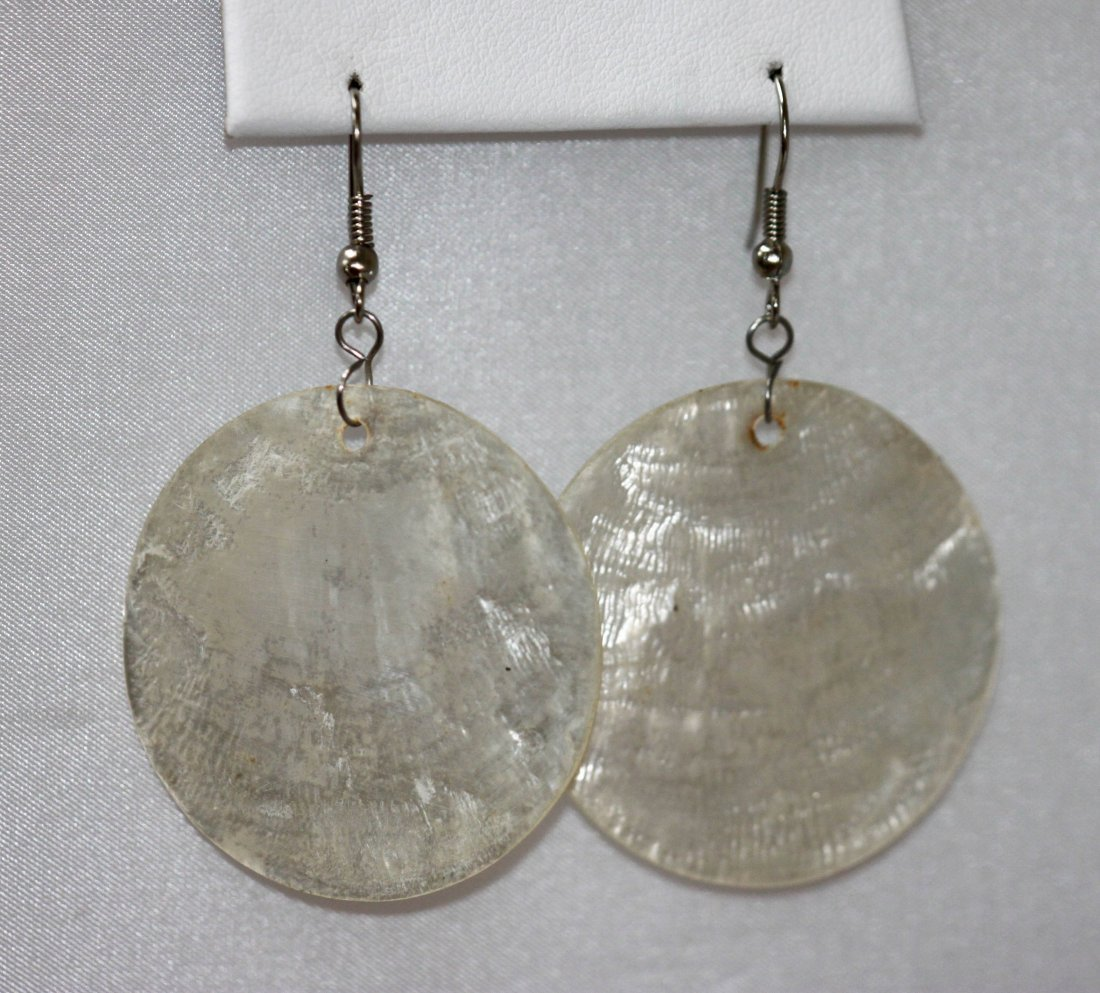 30.75 CTW WHITE EARRING STERLING SILVER