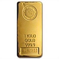 1 kilo (32.15 oz) Royal Canadian Mint Gold Bar .9999 Fi
