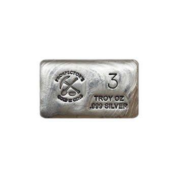 Silver Bar 3 Ounce .999 Fine