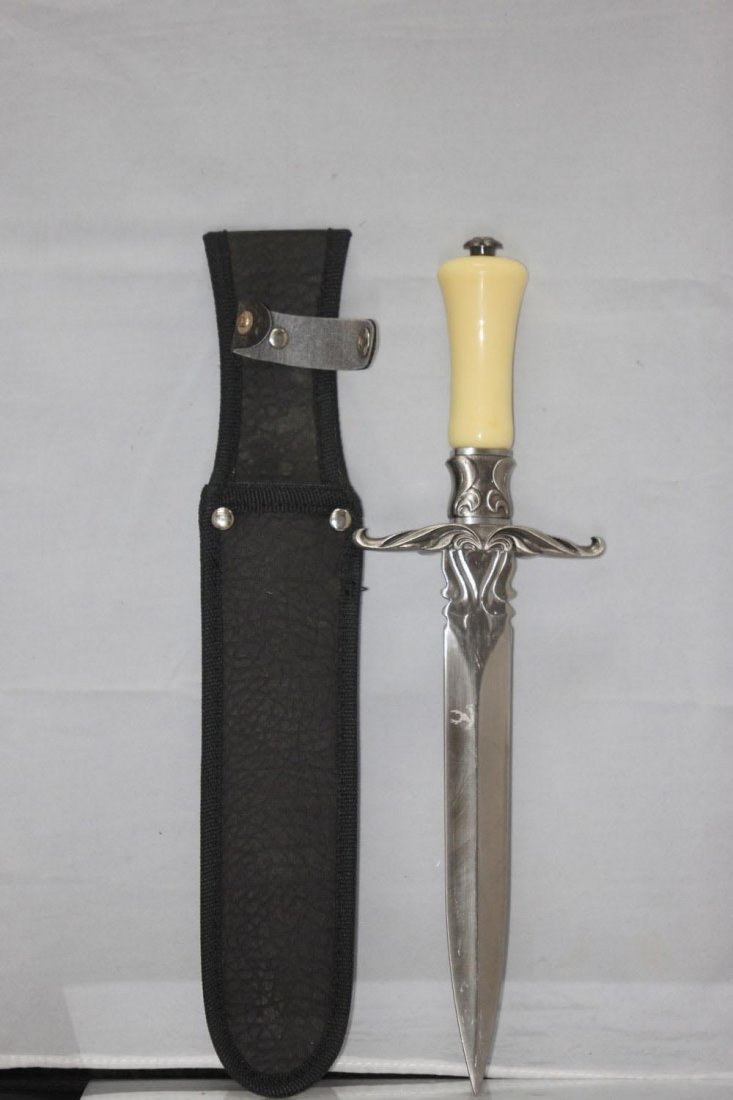 "COLLECTORS EDITION 13"" DAGGER DETAILED HANDLE GAURD"