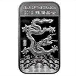 10 oz Year of the Dragon Silver Bar .999 Fine