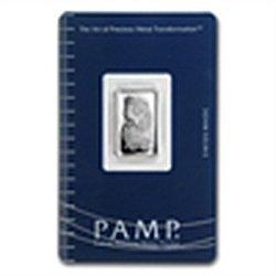 5 gram Pamp Suisse Silver Bar - Fortuna (In Assay) .999