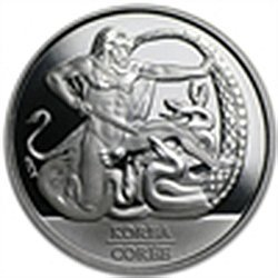 Silver Canadian The 60th Anniv. - Korean Armistice Agre