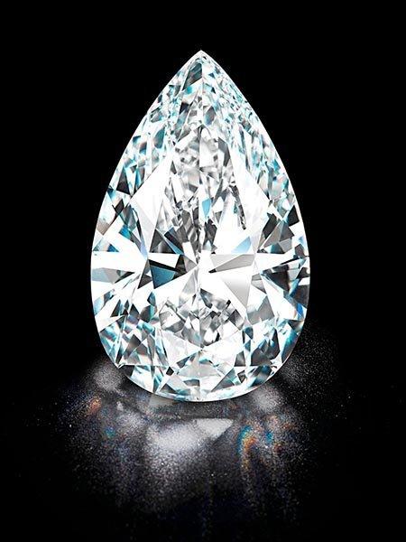GIA CERT 1 CTW Pear DIAMOND D/SI1