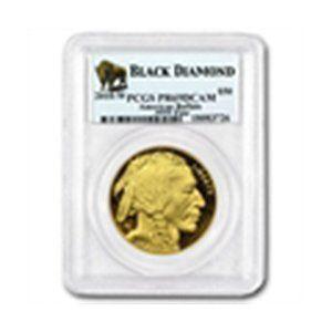 2010-W 1 oz Proof Gold Buffalo PR-69 PCGS (Black Diamon