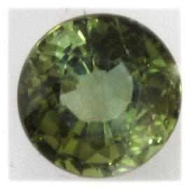 Natural 1.78ctw Green Tourmaline 8mm Round Stone